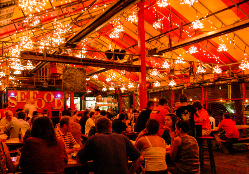 Inside Barking Crab - photo courtesy of Lars Plougmann