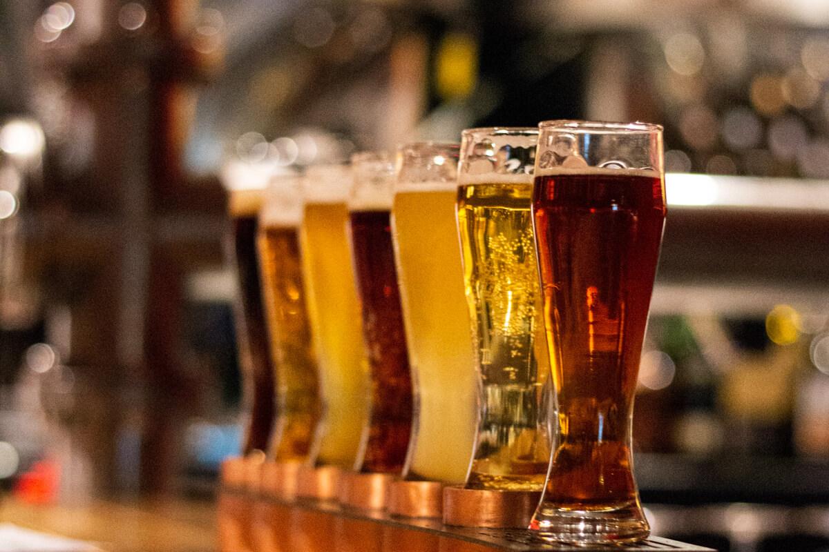 Beer flight - Photo courtesy of Kyryll Ushakov