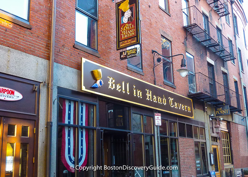 Bell in Hand Tavern in Boston, MA