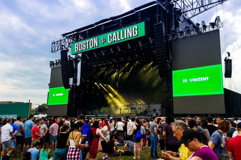 Boston Calling Music Festival performance
