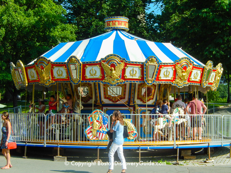 Boston Common's carousel