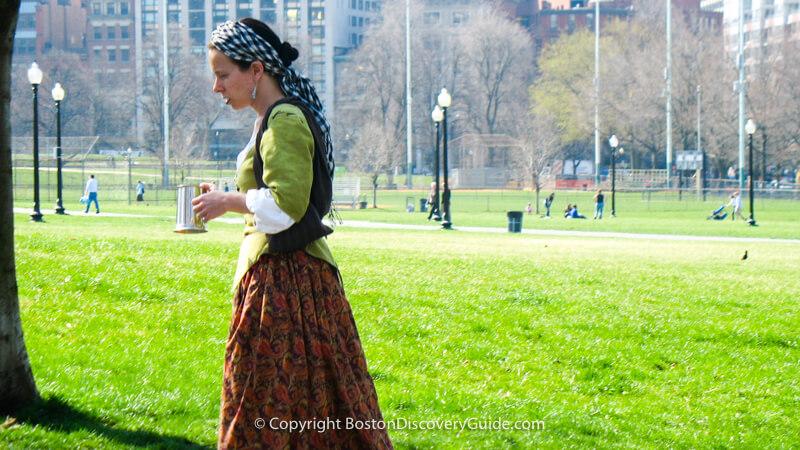 Boston History Timeline - Puritans build Boston