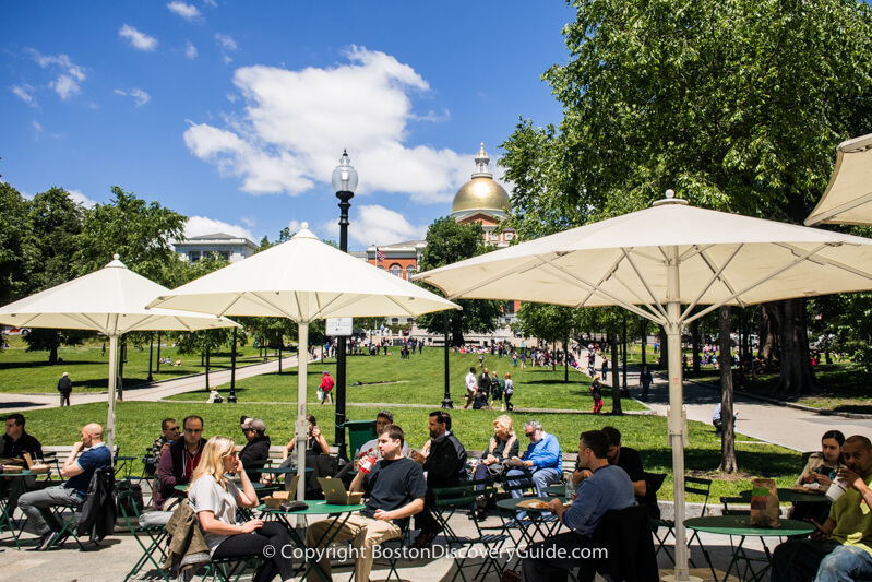Boston Common - just a few steps from XV Beacon Hotel