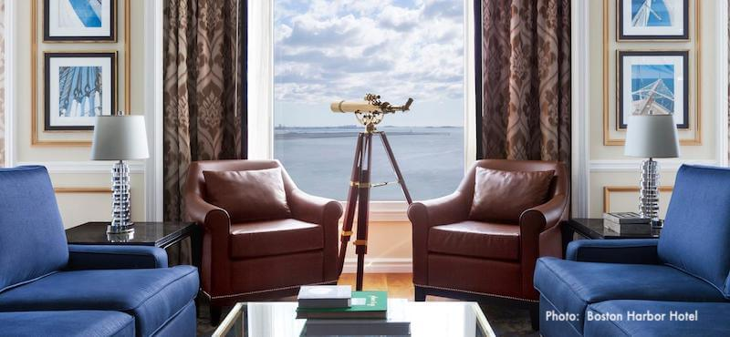 Valentine Day Special Package at The Boston Harbor Hotel in Boston MA