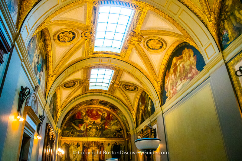 Boston Public Library - Sargent Murals
