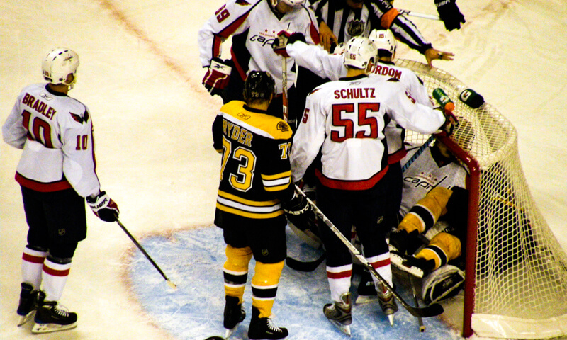 New England Bruins October schedule at TD Garden in Boston
