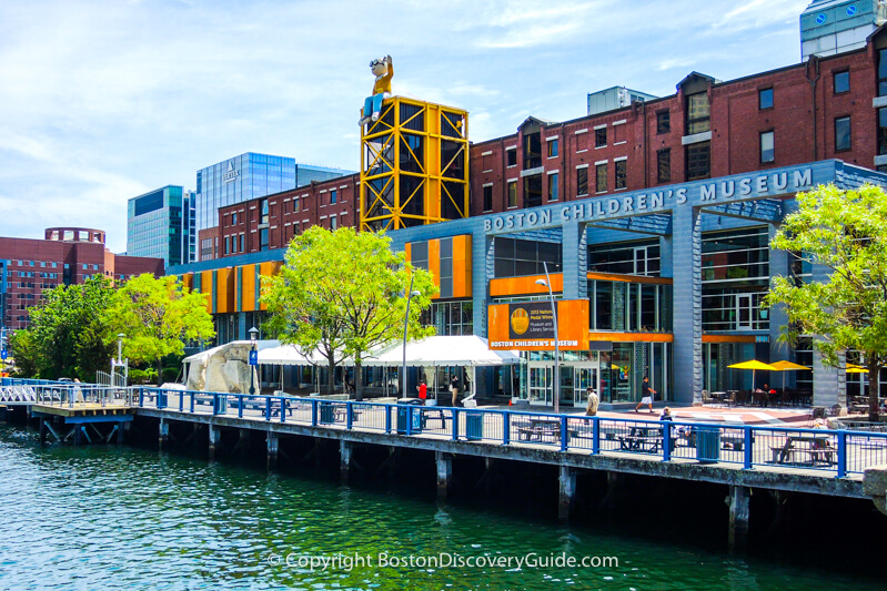 Boston neighborhoods:  Fort Point