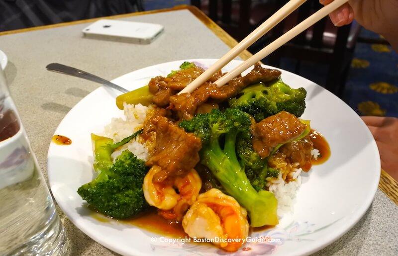 East Ocean City Restaurant in Boston's Chinatown neighborhood