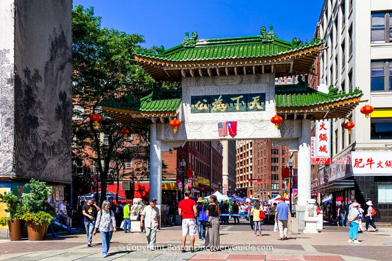 Boston neighborhoods:  Chinatown