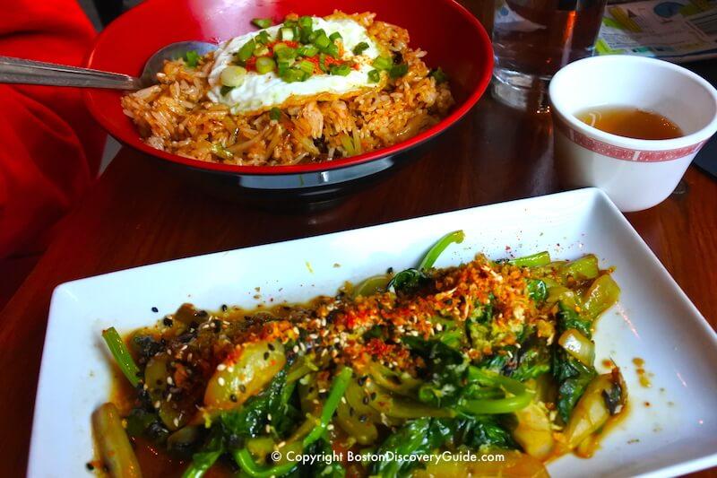 Shojo Restaurant in Boston's Chinatown neighborhood