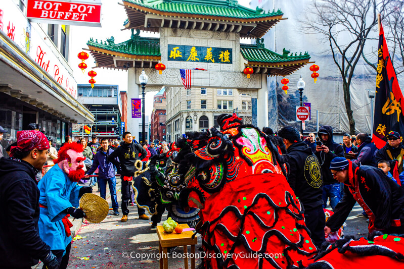 Chinese New Year parade in Boston