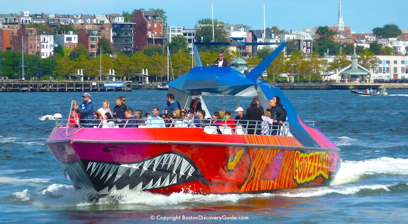 Codzilla - one of the most popular Boston sightseeing tours for teens