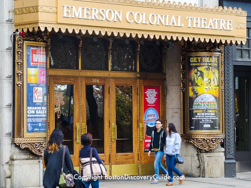 Colonial Theatre in Boston