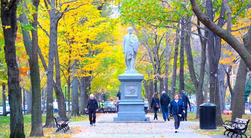 Hotels In Boston >> Boston Fall Foliage | Tours | 7 Best Sites in the City