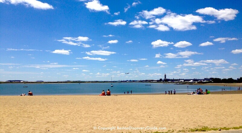 Constitution Beach in East Boston