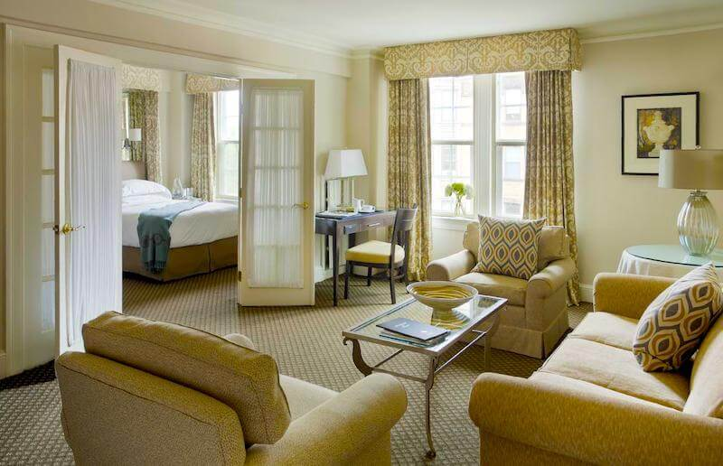 Suite in the Eliot Hotel