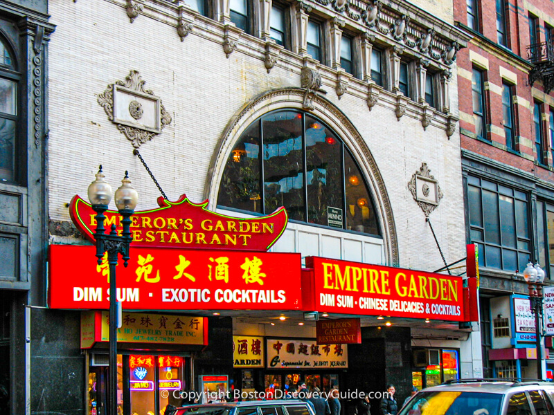 Winsor Dim Sum Cafe, Boston MA
