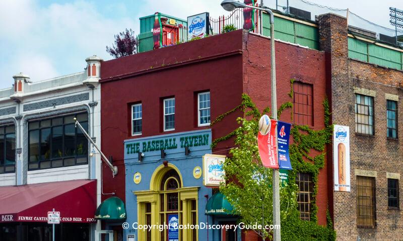 Baseball Tavern -  sports bar near Fenway Park in Boston