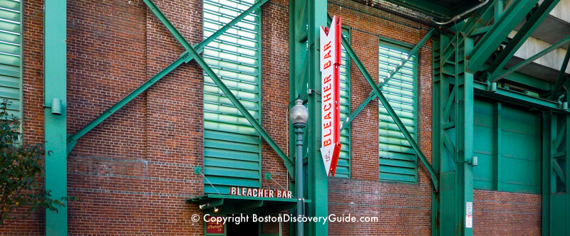 Bleacher Bar at Fenway Park in Boston