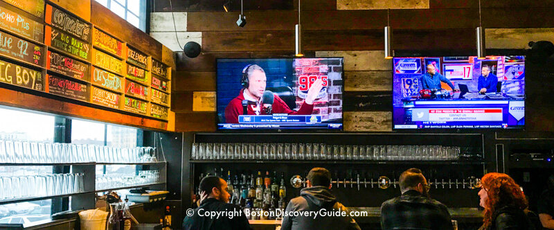 Boston Beer Works - microbrewery and sports bar near Fenway Park in Boston