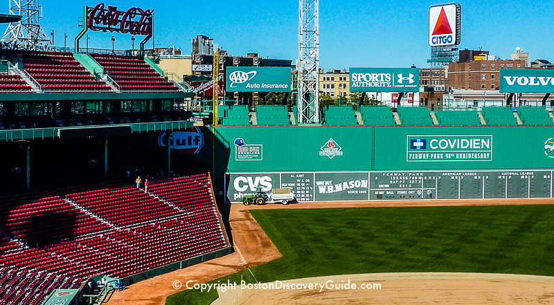 Fenway Park in Boston
