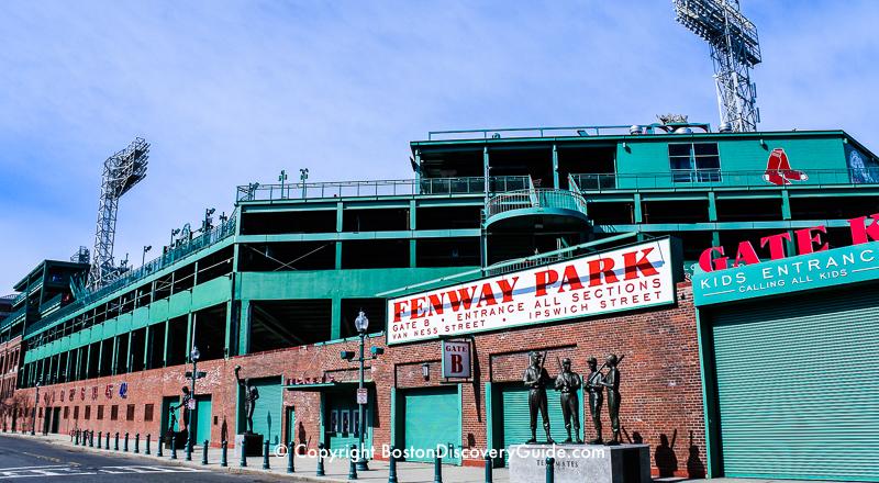 Fenway Park Red Sox Concerts More Events Boston Discovery Guide