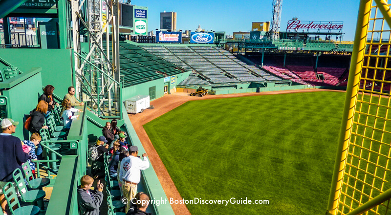 Fenway Park Tour Group