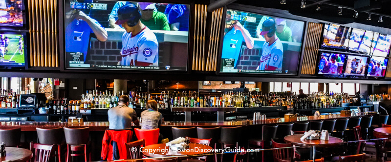 Tony C's Sports Bar and Grill near Fenway Park in Boston