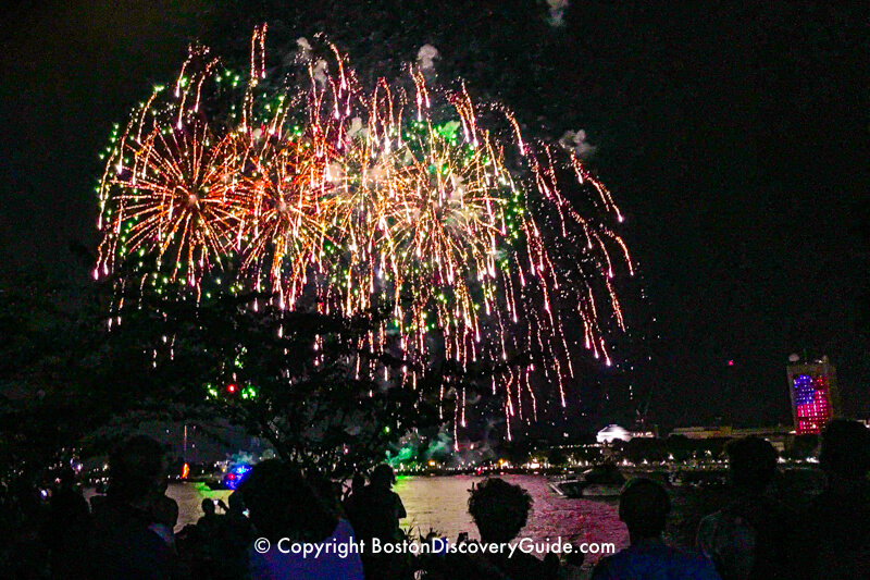 Boston Event Calendar July 2019 | Fireworks, Harborfest, Pops Concert