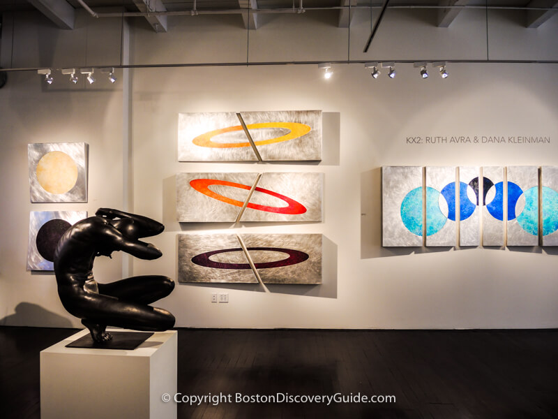 Lanoue Gallery at 450 Harrison Ave in SoWa