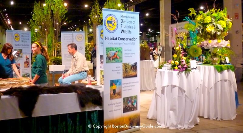 Boston Flower and Garden Show - conservation exhibition