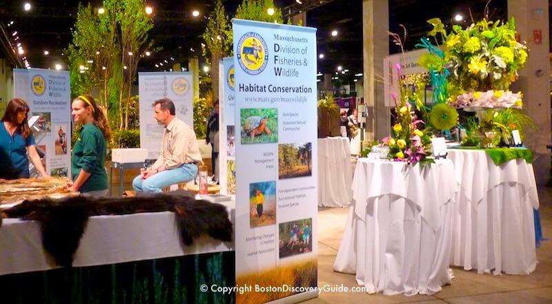Boston Flower and Garden Show - conservation exhibition