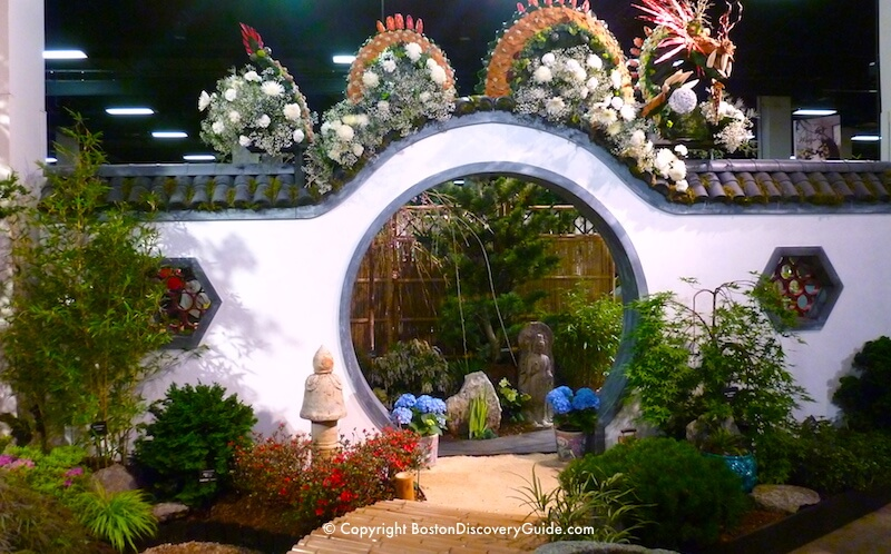 Boston Flower and Garden Show - Moon Gate