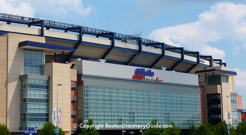 Gillette Stadium New England Patriots Boston Discovery