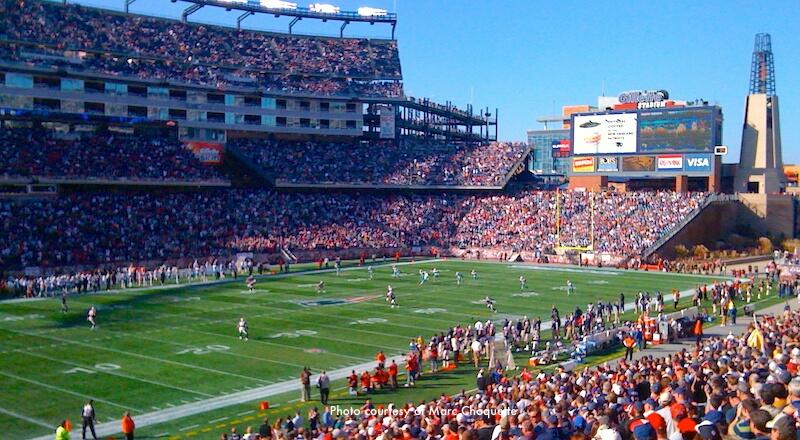 New England Patriots kicking off at Gillette Stadium - Game Schedule