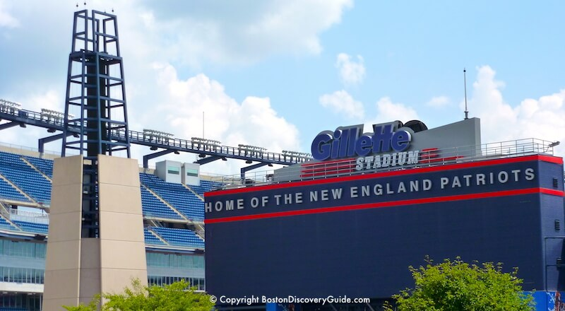 Getting To Gillette Stadium From Boston Transportation