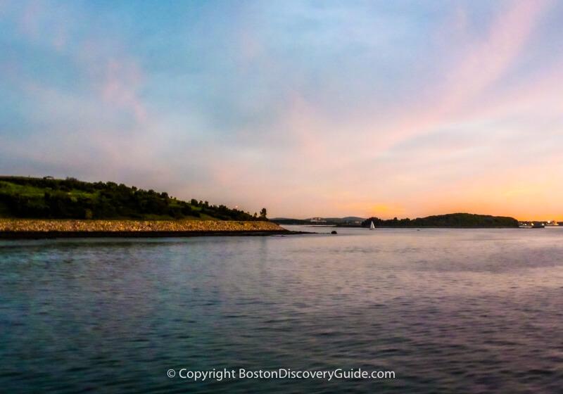 Boston neighborhoods:  Boston Harbor Islands