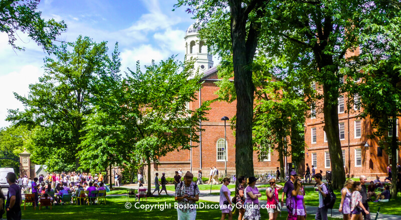 Guide to Boston Colleges and Universities - Harvard University Campus