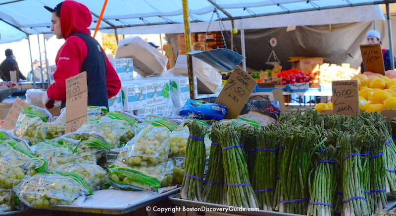 Perfect asparagus - and each $2 bundle weighed almost 2 pounds