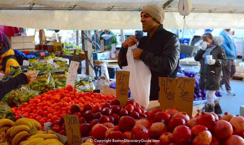 Haymarket Boston - Historic Outdoor Market - Boston Discovery Guide