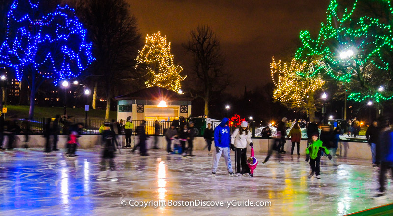 Best things to do in boston in december 2018 boston discovery guide christmas trees in bostons downtown crossing sciox Images