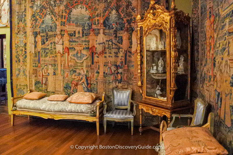 Tapestries in the Isabella Stewart Gardner Museum