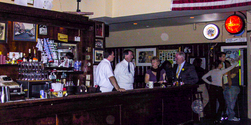 JJ Foley's Cafe in Boston's South Endneighborhood - popular Irish pub since 1909