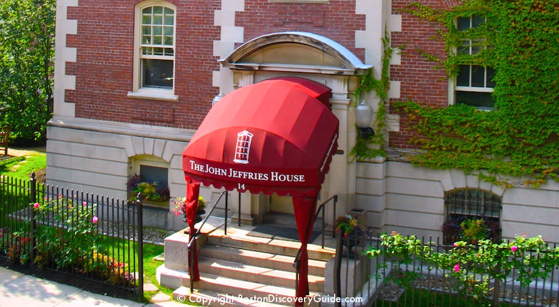Beacon Hill Boston Hotels - John Jeffries House
