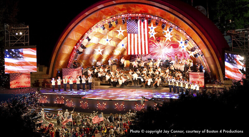 Boston Pops Concert in the Hatch Shell