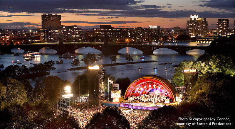 Boston Fireworks and Concert 2019 July 4th - Boston Discovery Guide