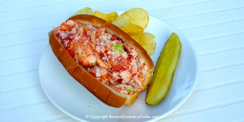 Lobster Roll from Kelly's, across from Revere Beach