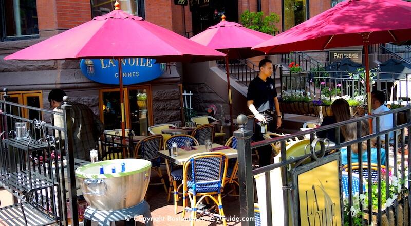 La Voile Outdoor Dining Area