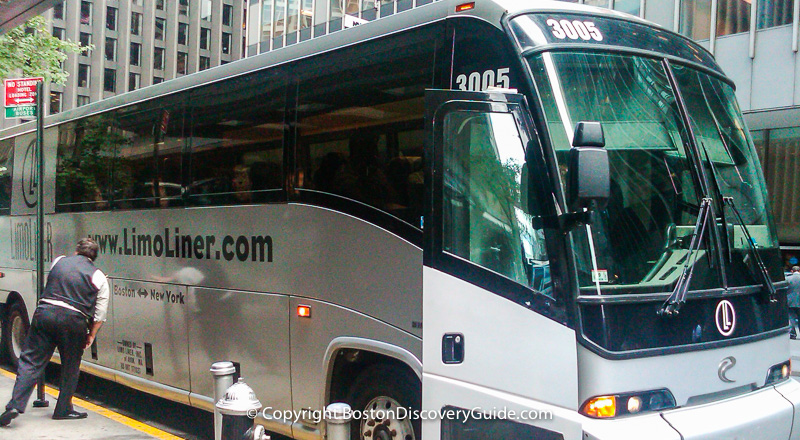 Boston to New York Bus Choices