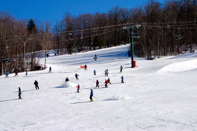 Loon Mountain, popular NH ski resort